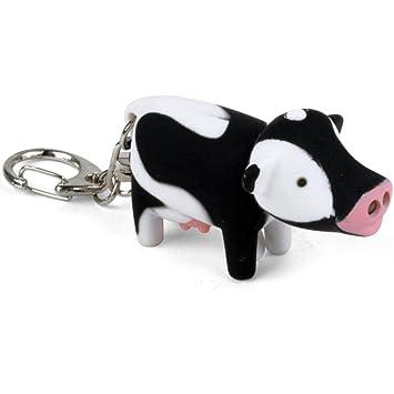 Kikkerland KRL04T-UE - llavero LED Vaca en la CDU, colorido ...
