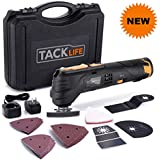 Best Review 12v Oscillating Tool 6 Variable Speed Lithium ion Cordless Oscillating Multi tool With Led 1 Hour Fast Charge Great For Sanding Polishing Cutting Scraping Cleaning 23pcs Accessories