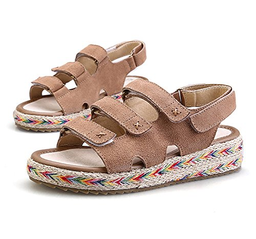 GetmorebeautyUpdate - Zapatos de tacón  mujer caqui