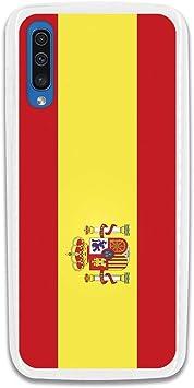 LA CASA DE LAS CARCASAS Funda Bandera España para Samsung Galaxy A70: Amazon.es: Electrónica