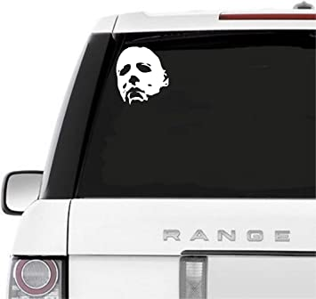 halloween michael myers Vinyl Decal Sticker Car Van bike vehicle
