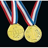 Winner award medals - 72 pc bulk wholesale lot
