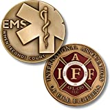EMS When Seconds Count - IAFF Challenge Coin