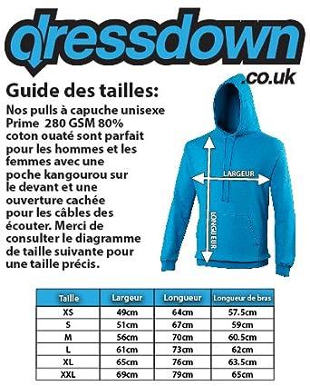 Dressdown Sweat-Shirt /à Capuche Evolution of Man Joueur Batterie Unisexe