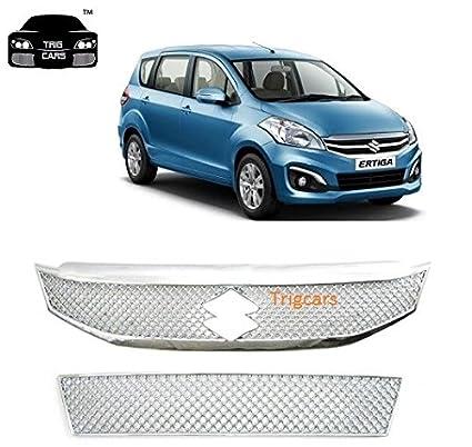 Trigcars Maruti Suzuki Ertiga New Car Front Grill Chrome Plated