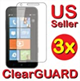 3x Samsung Focus S i937 Premium Invisible Clear LCD Screen Protector Cover Guard Shield Protective Film Kit (3 Pieces)