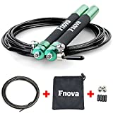 Best Speed Rope For Double - Fnova Adjustable Crossfit Jump Rope Kit Bundle Review