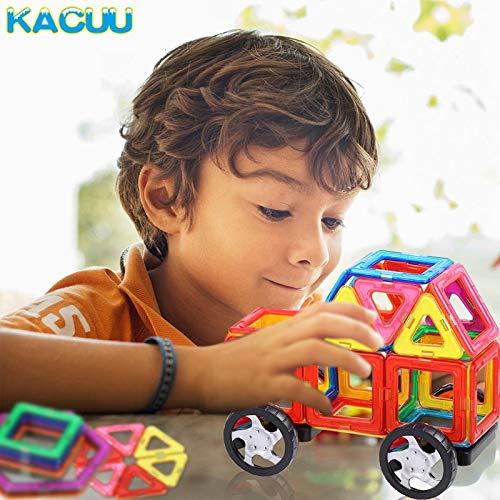 JohnCalbe A&T Big Size Magnetic Designer Construction Set Model & Building Toy Magnets Magnetic Blocks Educational Toys for Children by JohnCalbe (Image #4)