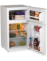 Avanti - 3.1 CF Two Door Counterhigh Compact Refrigerator - White