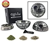 Official Death Star Herb Grinder - Star Wars Grinder With BONUS Pollen Scraper - Star Wars Gifts - Herb & Spice Tool With Pollen Catcher - 3 Part Grinder, 2.2 Inches