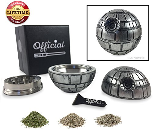 Official Death Star Herb Grinder product image