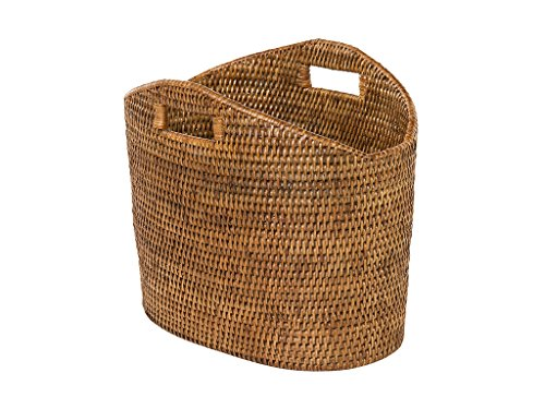 Kouboo 1060135 Storage Basket, Honey Brown