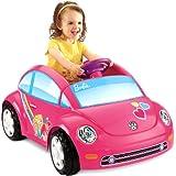 Fisher-Price Power Wheels Barbie Volkswagen Beetle Toy Car