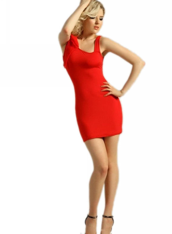 Motony Sexy Sleeveless fashion dress Evening Party Slim Dress Clubwear
