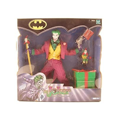 The Joker 2001 8-Inch Fully Poseable Action Figure with Cloth Costume: Toys & Games