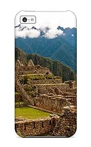 Anti-scratch And Shatterproof Machu Picchu Phone Case For Iphone 5c/ High Quality Tpu Case