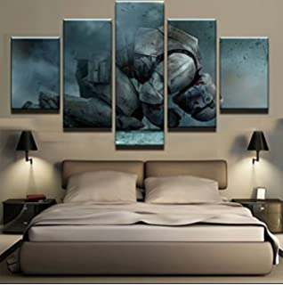 Amazoncom Large Size Millennium Falcon Paintings Star Wars Movie