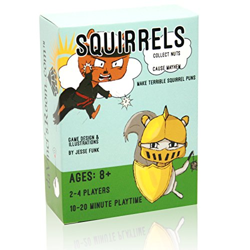Squirrels! - The Fast Paced Strategy Game - Family Strategy Board Game