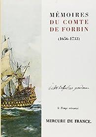 Mémoires du comte de Forbin : 1656-1733 par Claude de Forbin