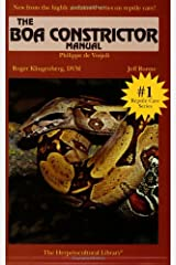 The Boa Constrictor Manual (The Herpetocultural Library) Paperback