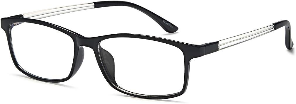 VVDQELLA Gafas Presbicia Hombre/Mujere Montura en TR90 Lentes ...