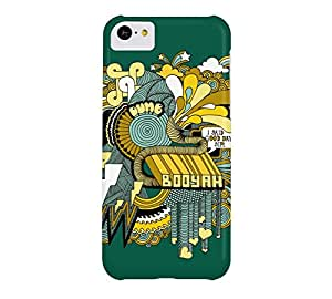 Booyah! iPhone 5c Castleton green Barely There Phone Case - Design By Humans