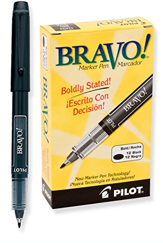 PIL11034 - Pilot Bravo Porous Point Stick Water-Based Marker Pen