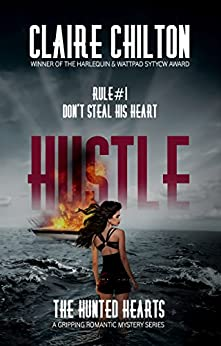 Hustle gripping romantic mystery Hunted ebook product image