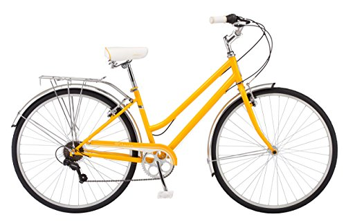 Schwinn Wayfarer Hybrid 700C Wheel Bicycle, Mango, 16'/Small