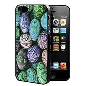 Easter Eggs Hard Snap on Cell Phone Case (iPhone 5 5s) by runtopwell