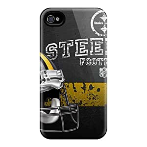 KaraPerron Iphone 6 Scratch Resistant Hard Phone Covers Allow Personal Design Trendy Pittsburgh Steelers Skin [HrA8368abUF]