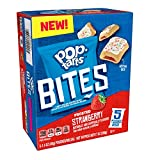 Pop-Tarts Bites, Tasty Filled Pastry Bites, Frosted Strawberry, 7oz Box(Pack of 5)