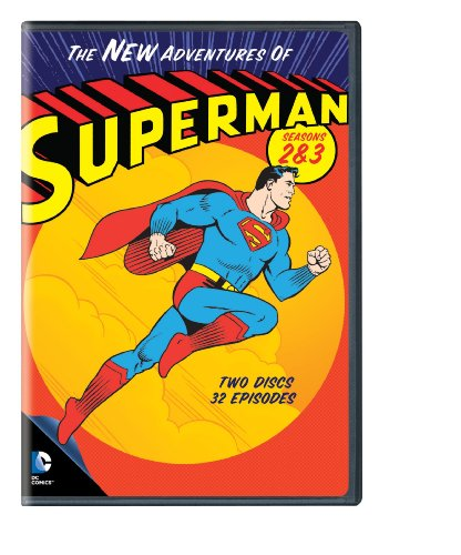 DVD : The New Adventures of Superman: Seasons 2 & 3 (1967-1969) (Full Frame, 2 Pack, Dolby, AC-3, 2 Disc)