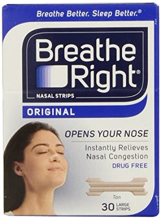 strips nasal tan right breathe