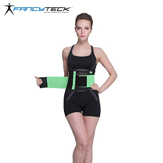 c1f5867454 ... 11 Colors S-2XL Corset Breathable Thin Extreme Women Slimming Body  Shaper Waist Belt Color Fluorescent Green Size S  Amazon.in  Clothing    Accessories