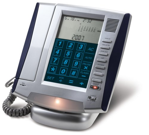 Lcd Touch Panel Phone - LCD Phone with Talking Caller ID