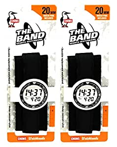 Amazon.com: Chums The Band 20mm Wide Sports Velcro Watch
