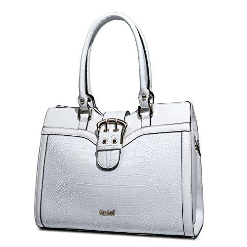 Kadell Women's Leather Designer Handbags Shoulder Bag Satchel for Office Ladies - Sunglasses The Row Sale