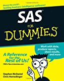 SAS for Dummies, Chris Hemedinger and Stephen McDaniel, 0471788325