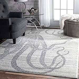 51hlmZ87t1L._SS300_ 50+ Octopus Rugs and Octopus Area Rugs