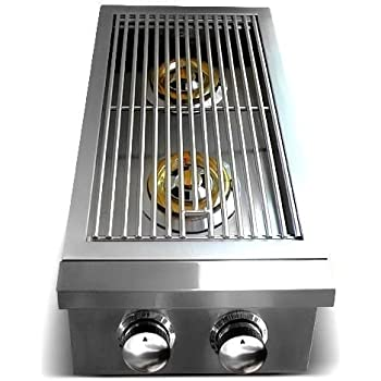 Premier Series Stainless Steel Double Side Slide-In Burner - NG