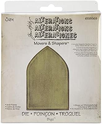 SIZZIX ARCH FRAME 658569 MOVERS /& SHAPERS TIM HOLTZ BIGZ CUTTING DIE