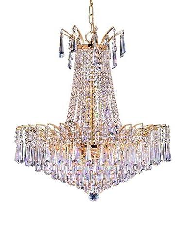 Pecaso lighting h 4033e g hg flamingo crystal hexagon chandelier pecaso lighting h 4033e g hg flamingo crystal hexagon chandelier mozeypictures Gallery