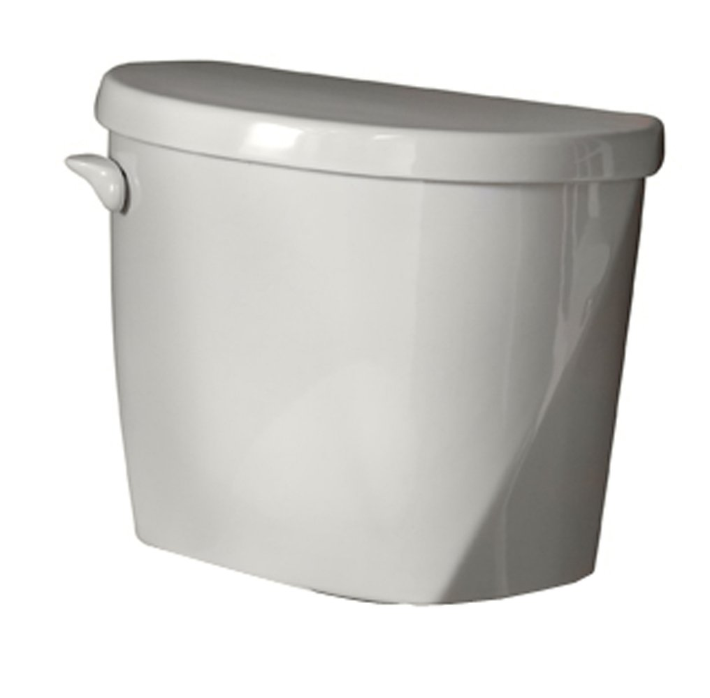 American Standard 4061.016.020 Evolution 2 Right Height Elongated Toilet Tank Only with Coupling Components and Tank Trim, White (Tank Only)
