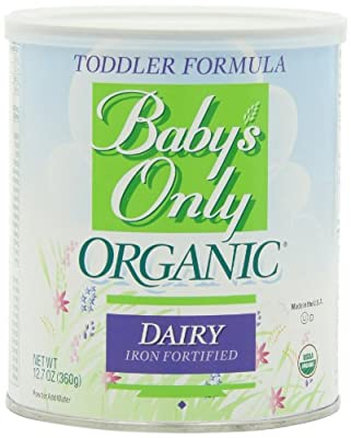Baby's Only Organic Toddler Formula, 12.7 Ounce (Pack of 6) from Baby's Only Organic