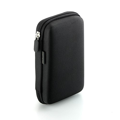 Gps Protective Hardshell Case (Drive Logic™ Portable EVA Hard Carrying Travel Case Pouch for 5-Inch GPS (Black))