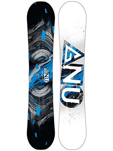 GNU Carbon Credit Asym Wide Snowboard Mens Sz 156cm (W)