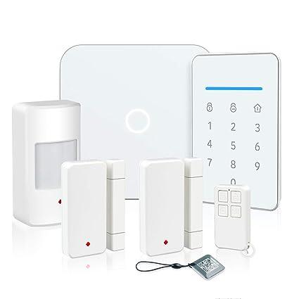 Larmtek Smart Wi Fi Alarm System With Alarm Host Motion Sensor And Remote