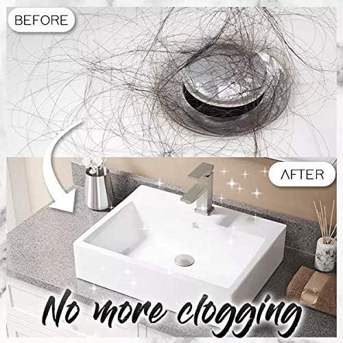 cuisine douche 2pcs Basin/Pop-Up/Drain/Filter,/Wash/Basin/Bounce/Drain/Filter/Universal/Replace/Pop/Up/Sink/Drain/Plugs,Bouchons de vidange d/évier pour salle de bain drai
