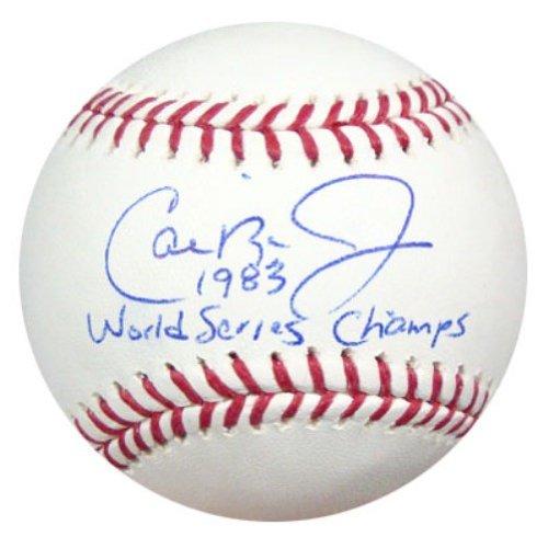 Cal Ripken Jr. Autographed Official MLB Baseball Baltimore Orioles